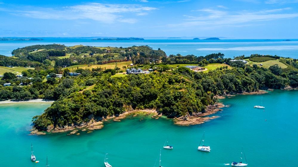 Waiheke Adası - Auckland, Yeni Zelanda